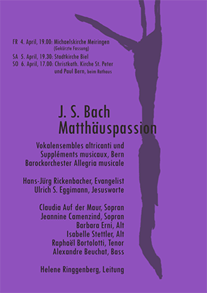 Matthaeuspassion flyer2