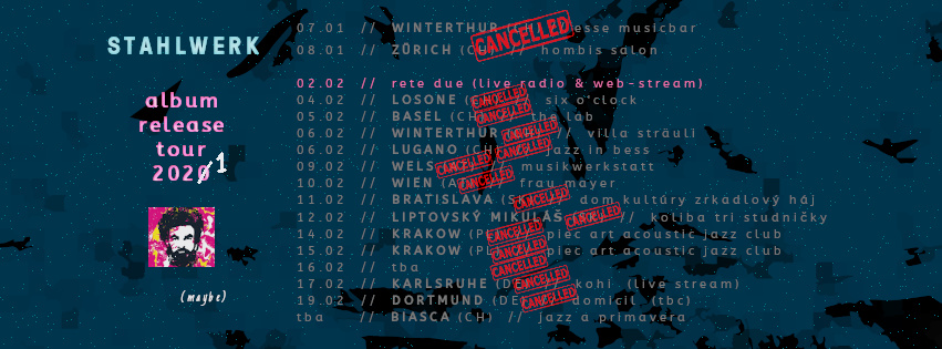 Release tour winter2021cancelled