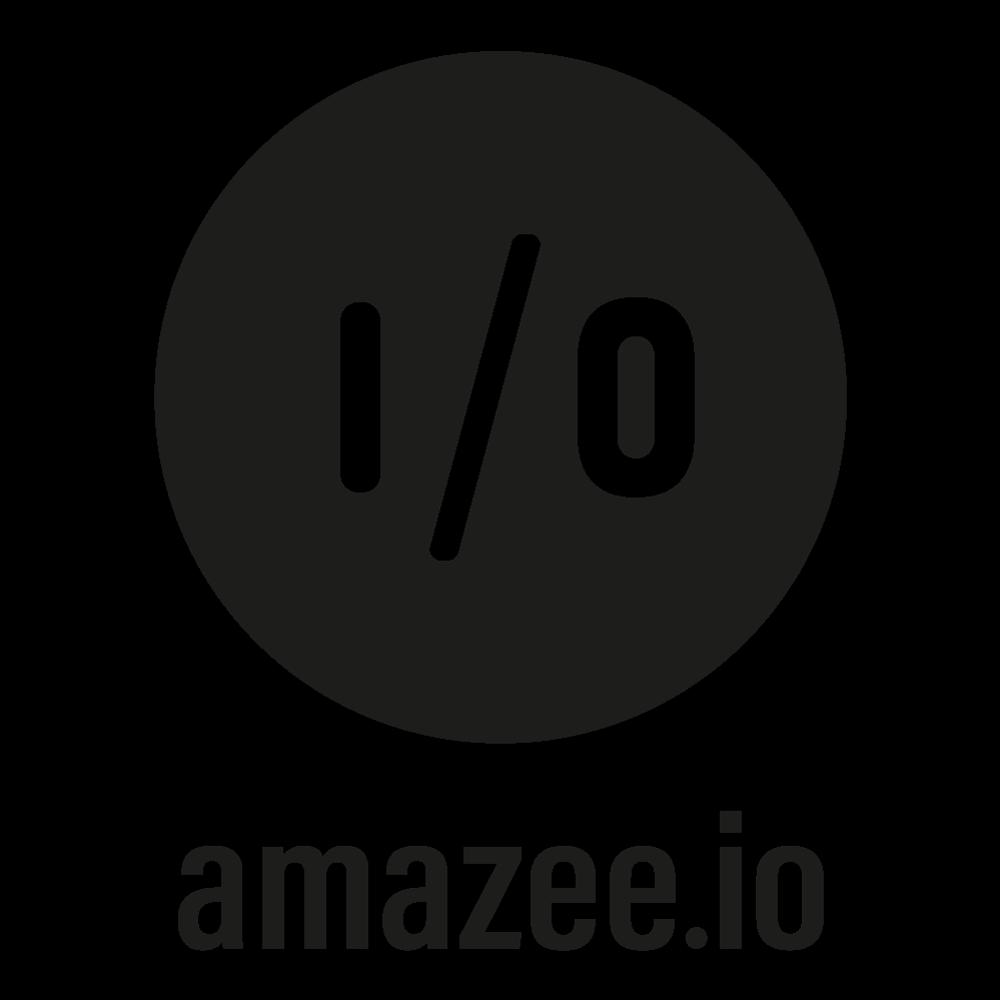 Amazeeio with text square