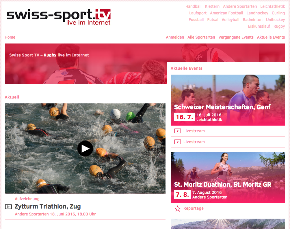 1 swiss sport tv web